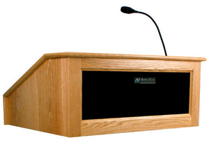 AmpliVox SW3035 - Wireless Ambassador Lectern with Sound