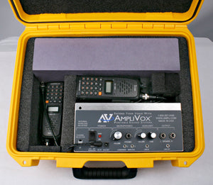 Amplivox SW6240 - All-Weather Hailer PA System - 50 W Amplifier - Speaker - Yellow, Silver, Orange