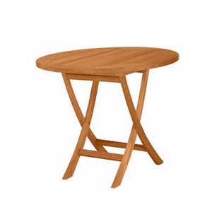 Anderson Teak Bahama Round Bistro Folding Table, 35""