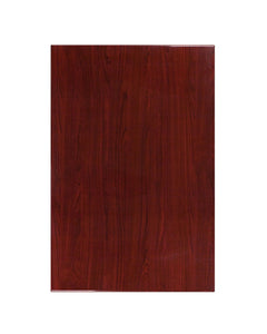 Flash Furniture 30'' x 45'' Rectangular Resin Mahogany Table Top