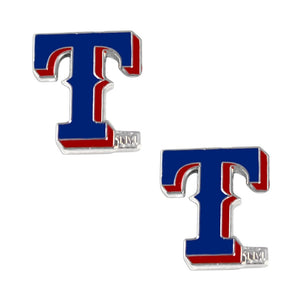 MLB Texas Rangers Team Logo Post Earrings