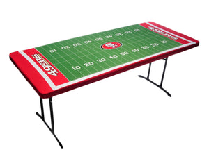 Cleanlapsports NFL San Francisco 49Ers Table Topit Table Cover