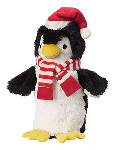 Doggles Pet Dog Cat Indoor Play Two Liter Christmas Penguin