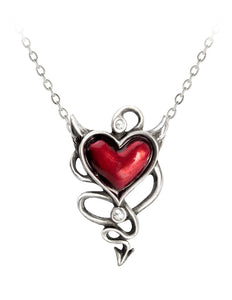 Alchemy of England Halloween Party Occasion Devil Heart Pendant