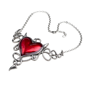 Alchemy of England Devil Heart Généreux Necklace