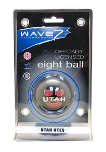 Wave7 Utah Sports Team Logo Officially Licensed Eight Ball