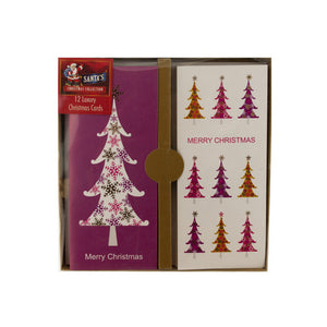 Koleimports Christmas Cards With Foil Accents 4 Pack