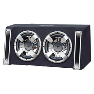 Vector 2400 Watts Dual 12'' Slim Designed Bass Box Enclosure