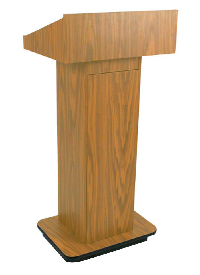 Amplivox Executive Column Lectern - Non Sound Aplw505wt