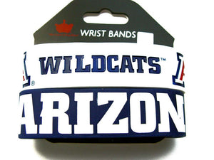 NCAA Arizona Wildcats Silicone Rubber Bracelet, 2-Pack