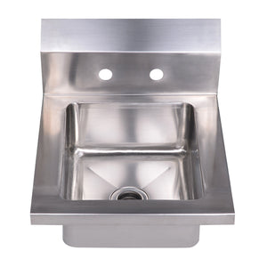 Whitehaus Collection WHHS14 Noah's Collection Sink, Brushed Stainless Steel
