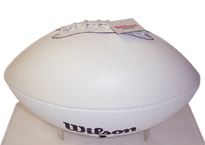 Wilson TDS White Panel Autograph Model Full Size Football - F1173