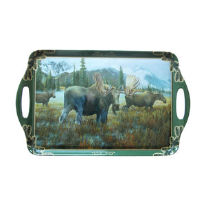 Wild Wings Serving Tray - Moose