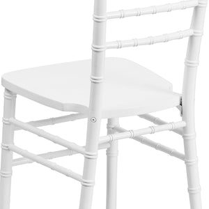 Flash Furniture Flash Elegance White Wood Chiavari Chair [XS-WHITE-GG]