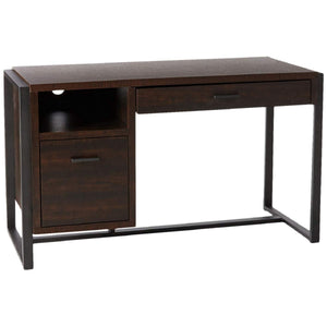 Offex Home Office Student Writing Desk with Pull-Out Drawer