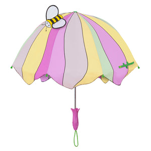 Kidorable yellow/pink lotus umbrellas