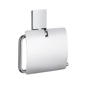 Smedbo SME, Polished Chrome ZK3414 Toilet Roll Euro Holder with Lid