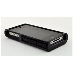 iFunner iTur iPhone Hard Plastic Wallet Case - Black