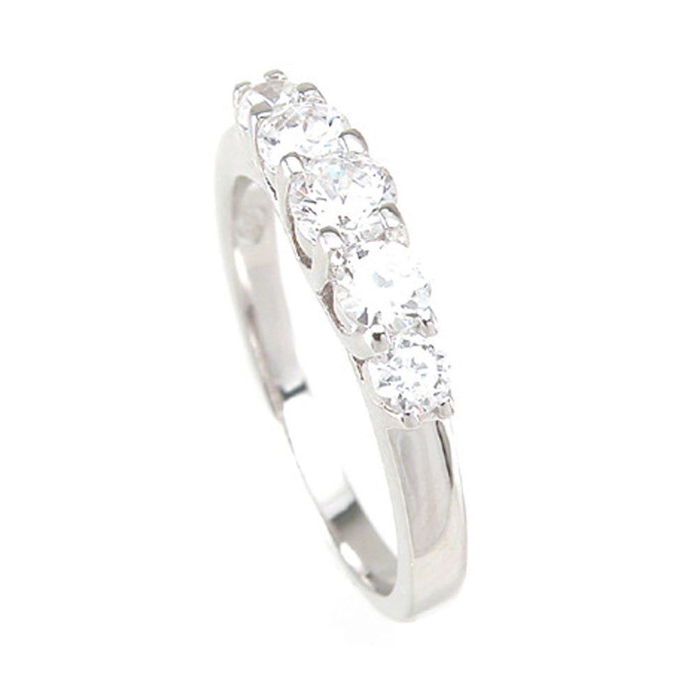 925 Sterlng Silver Fashion Ring- Size 5 - kkr6767