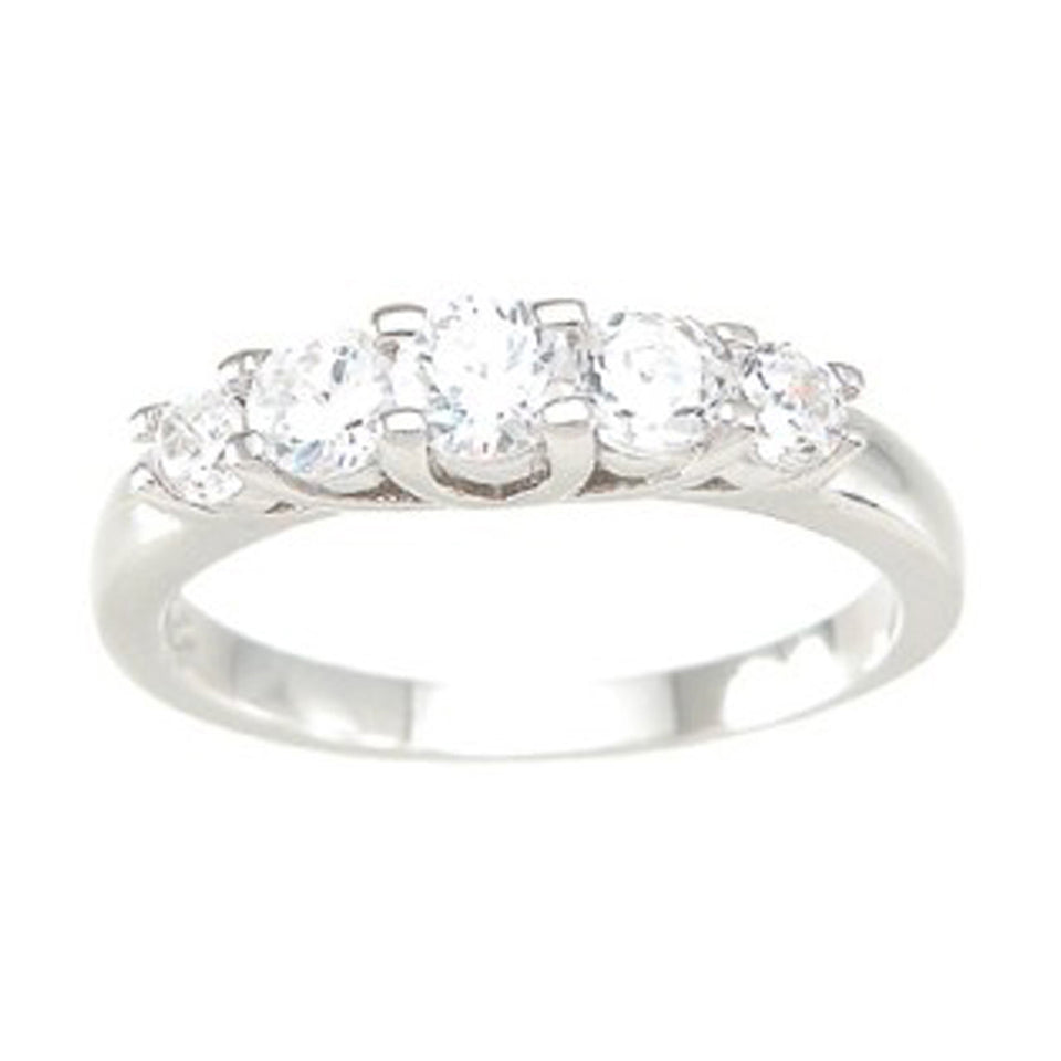 925 Sterlng Silver Fashion Ring- Size 8 - kkr6767c