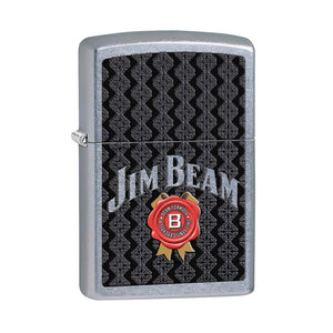 Zippo Jim Beam Street Chrome Lighter