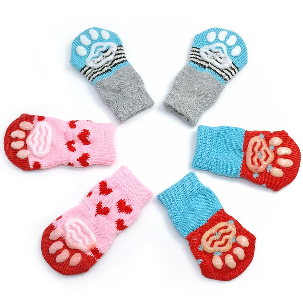 Little Puppy Soft Socks (2 Pairs of 4)