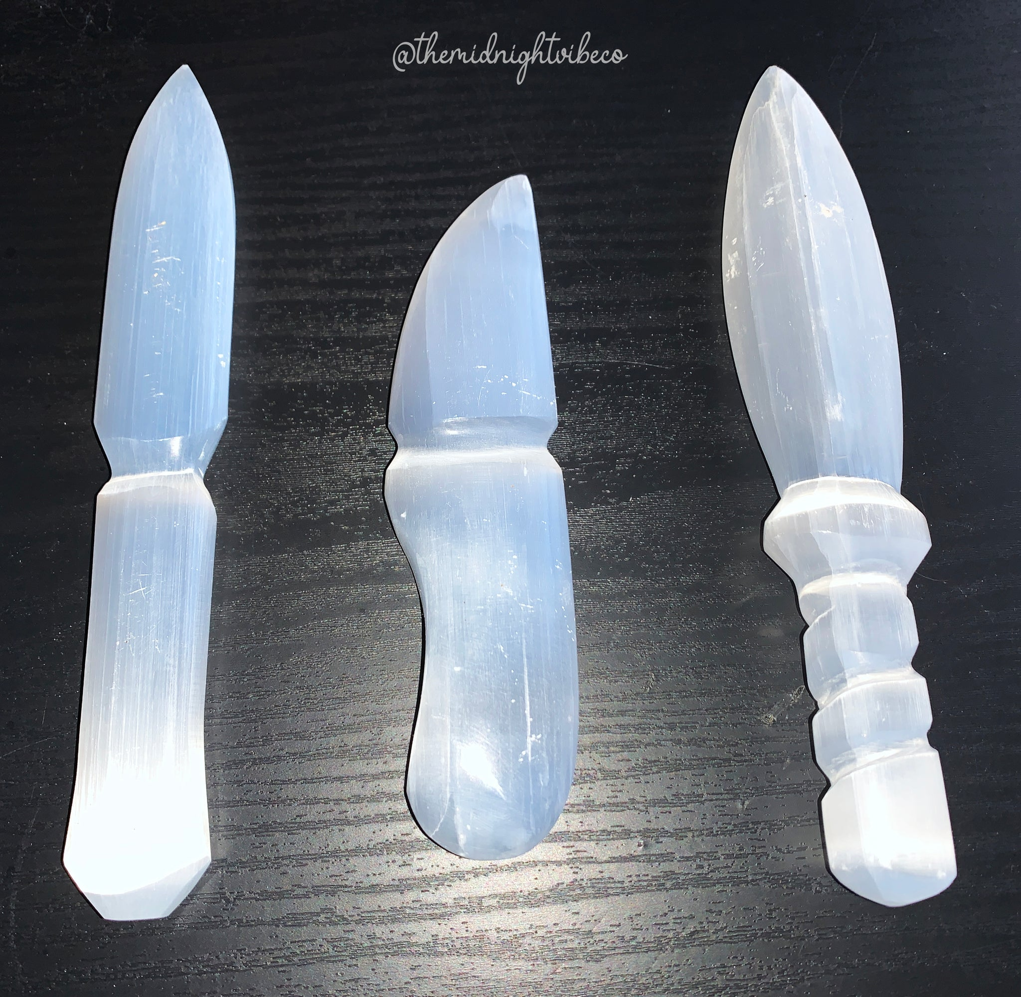 Selenite Knife/Dagger