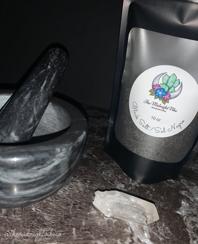 Blessed Black Salt - Sal Negro - 10oz