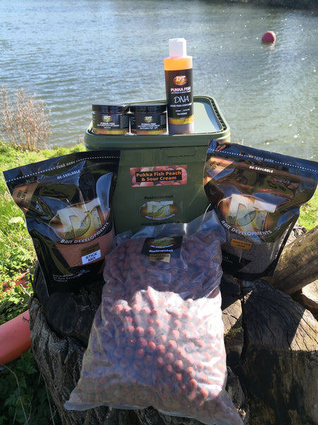 DT Baits Pukka Fish Peach & Sour Cream Bundle