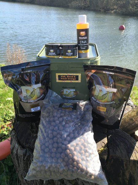 DT Baits Fish, Blood & Orange Bundle