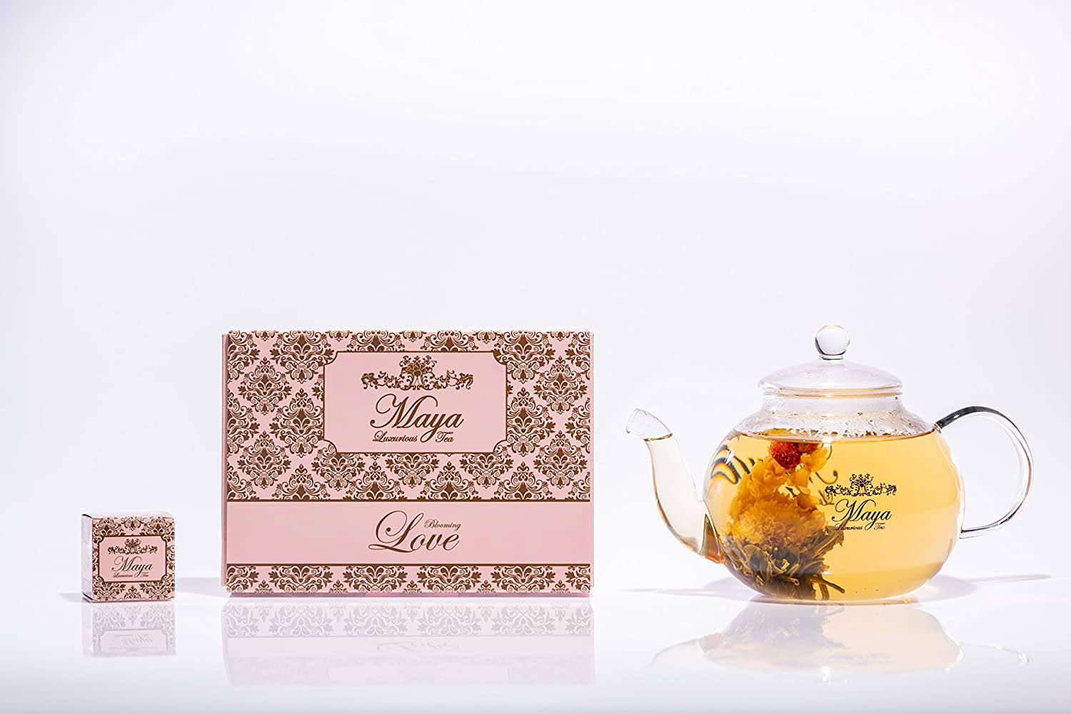 TEA Blooming Love, Pack of 12 by Maya Luxurious