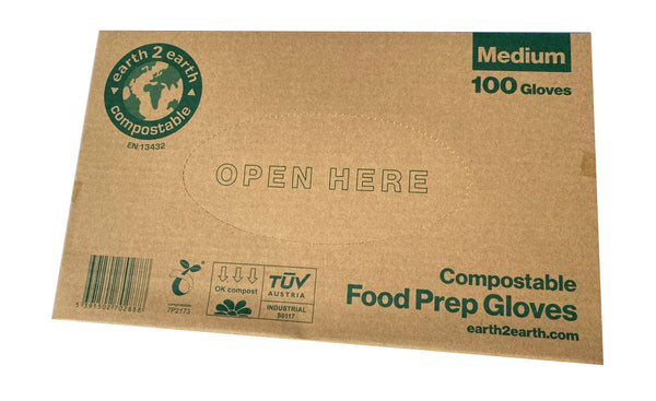 Compostable Gloves - Pk100