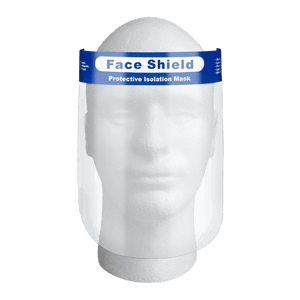Protective Isolation Face Shields - 1 unit