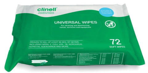 Clinell Hand & Surface Disinfection Wipes