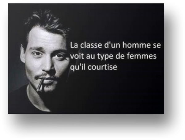 La plus belle citation de Johnny Deep