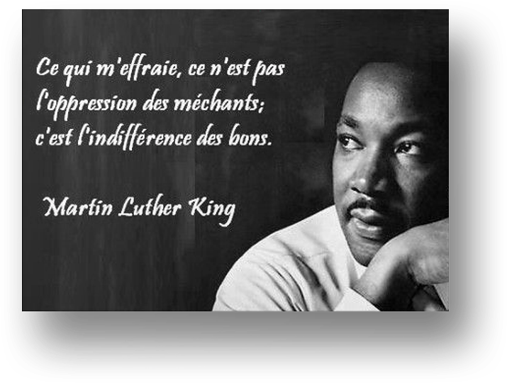 Les citations de Marting Luther King