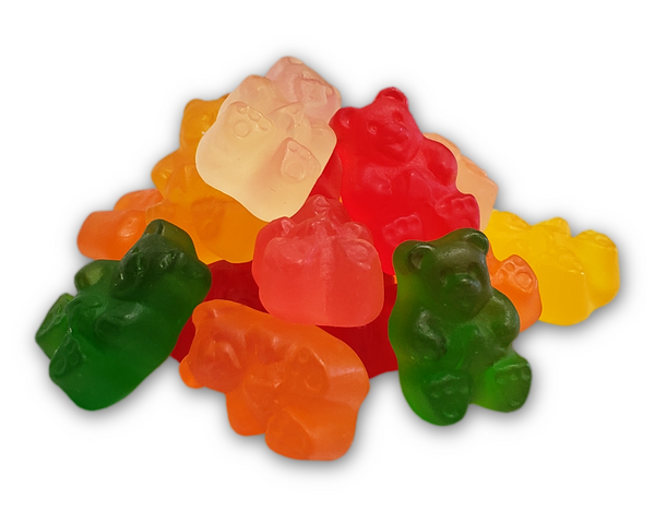 Organic Fruit Gummy Bears 100gm
