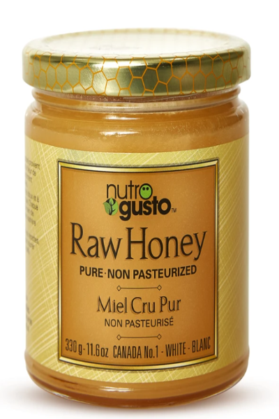 NutroGusto Raw Honey (Unpasteurized)