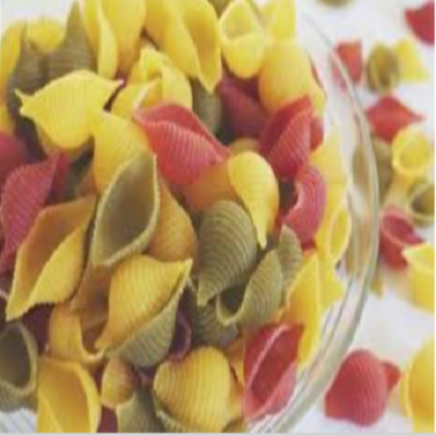 Tri Colour Shell Pasta - Organic