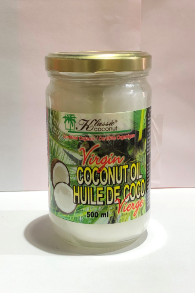 Coconut Oil - Virgin Organic 500 ml