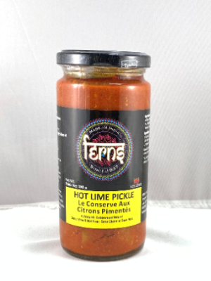 Ferns Hot Lime Pickle 380 grams