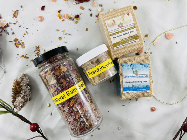 Relaxing Bath Salt kit