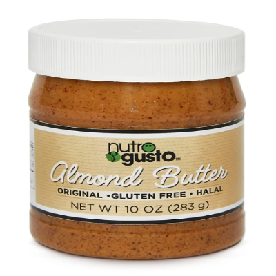 NutroGusto Natural Almond Butter