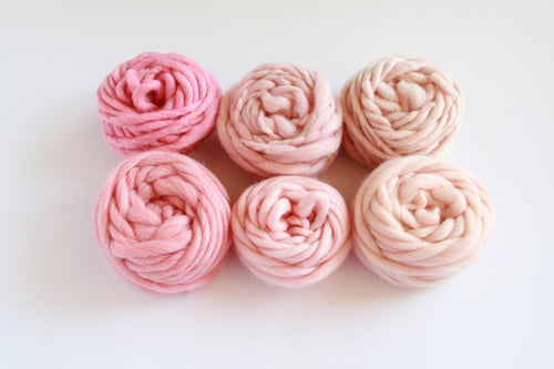 Blush & Bashful Fiber Pack