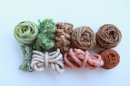 Woodland Forest Fiber Pack