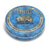 Reuzel Blue Pomade: Strong Hold, High Shine, Water Soluble