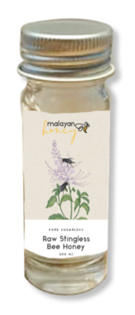Pure Malayan Stingless Bee Honey Trial Set (4 x 20 ml)