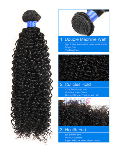 deep wave curly hair extensions