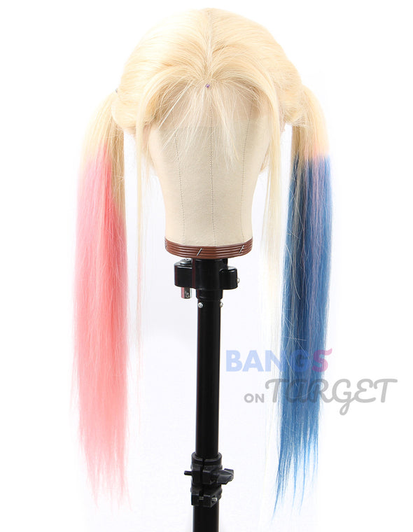 Cosplay Lace Front Wigs Human Hair