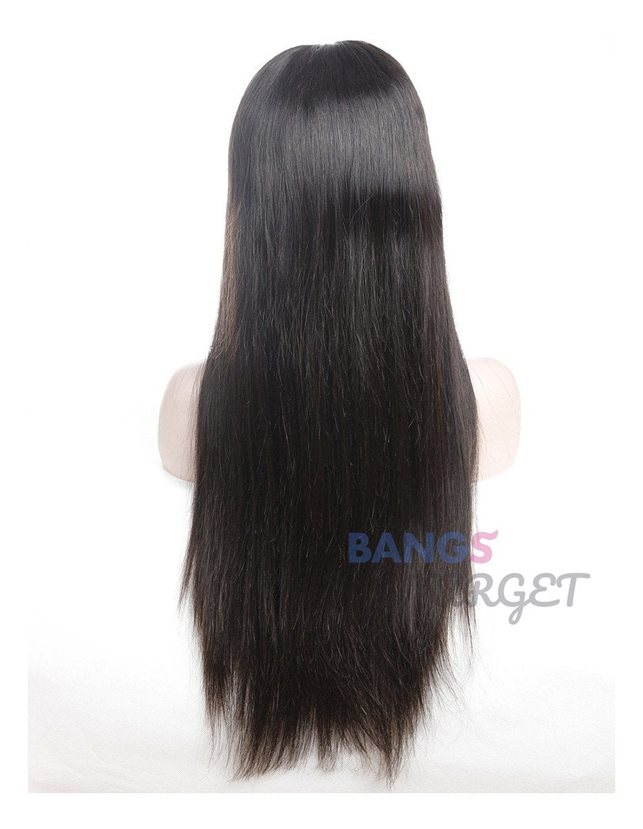 straight hair frontal wig